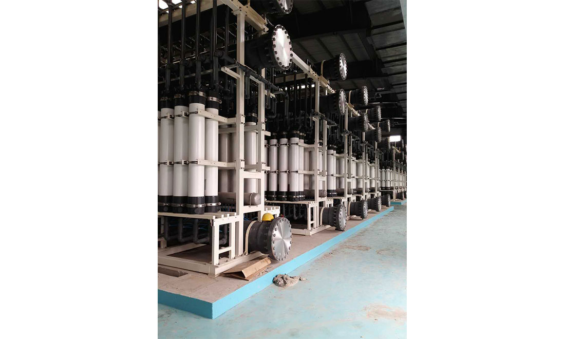 Water recycling project of changchun water group city drainage co., LTD