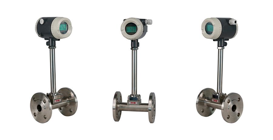 Digital gas tự nhiên Vortex Flowmeter