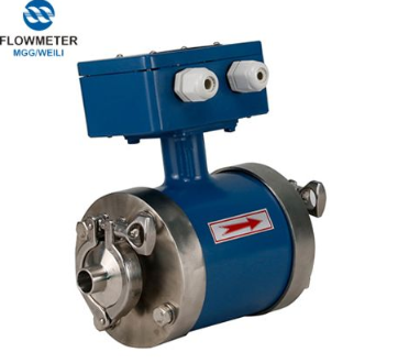 Electromagnetic Flow Meter Chemical Industry