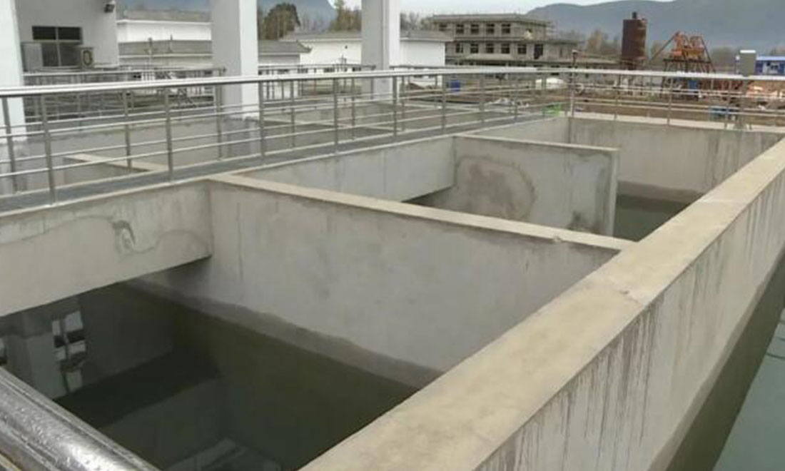 Eryuan county second sewage treatment plant