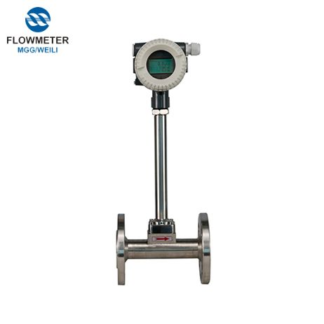 Digital natural Gas Vortex Flowmeter