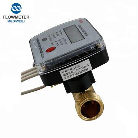 Liquid Flow Measure Device Ultrasonic Heat Meter