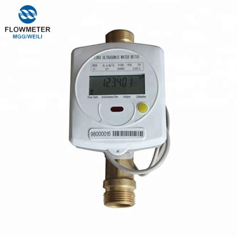 Single-jet water meter with MID