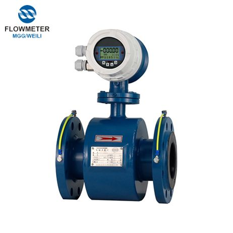 DN65 Caliber Waste Water Mechanical Acid Liquid Flow Meter